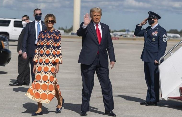 Melania President Donald Trump Palm Beach Florida