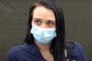 Nurse Tiffany Dover COVID Vaccine