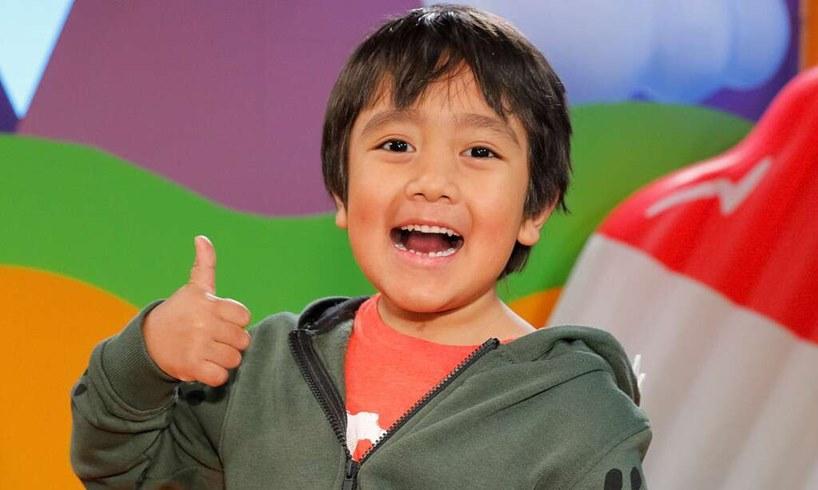 Ryan Kaji YouTube Top-Earning Star