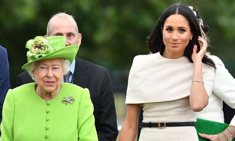Queen Elizabeth Meghan Markle Prince Harry Megxit