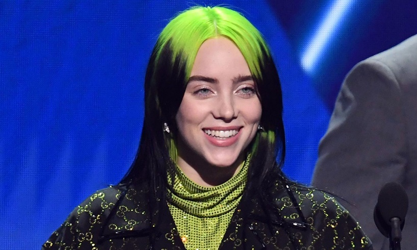 Billie Eilish New Blonde Hairdo