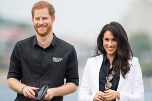 Prince Harry Meghan Markle Friends Archie Harrison Mountbatten-Windsor Photo