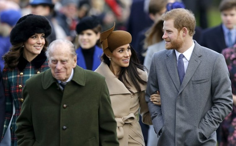 Kate Middleton Prince Philip Meghan Markle Harry UK Travel