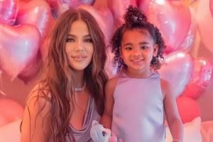 Khloe Kardashian True Thompson Birthday Kylie Jenner Photos