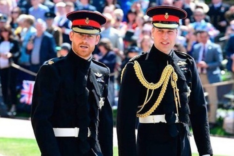 Prince Harry William Philip Funeral Same Outfits