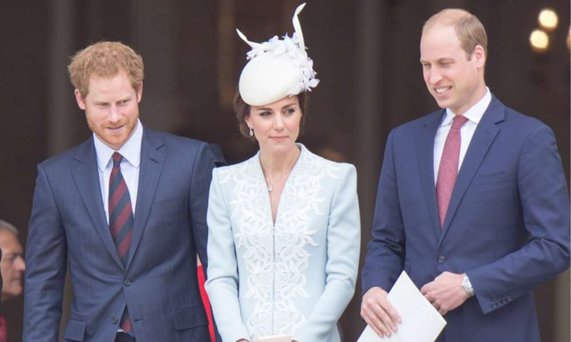 Prince Harry Kate Middleton William Meghan Markle Fame Competition
