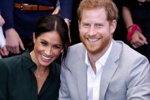Meghan Markle Prince Harry Lilibeth Diana Mountbatten Windsor Christening Trap