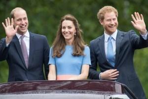 Prince William Kate Middleton Harry Remark Book Meghan Markle