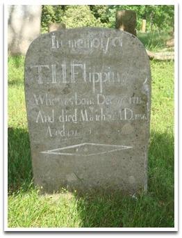 Thomas H. Flippin Gravestone