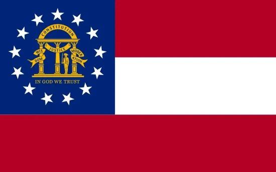 Georgia State Flag