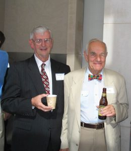 Judge Edward Leavy and former US Attorney Sid Lezak