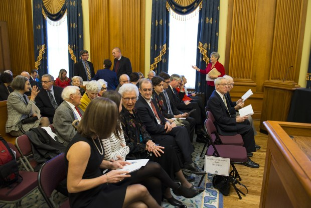 Honoring Judge Edward Leavy at Pioneer Courthouse Dec. 15, 2015. Ninth Circuit Ct. of Appeals photos.