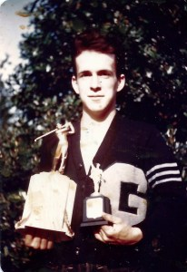 Grant High School letterman, Bob Jones.