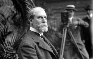 Charles Evan Hughes in 1916. Bain News Service, P. https://www.loc.gov/item/ggb2005022563/.
