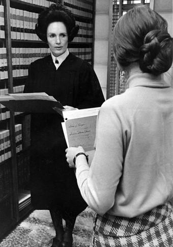 Judge Helen Frye