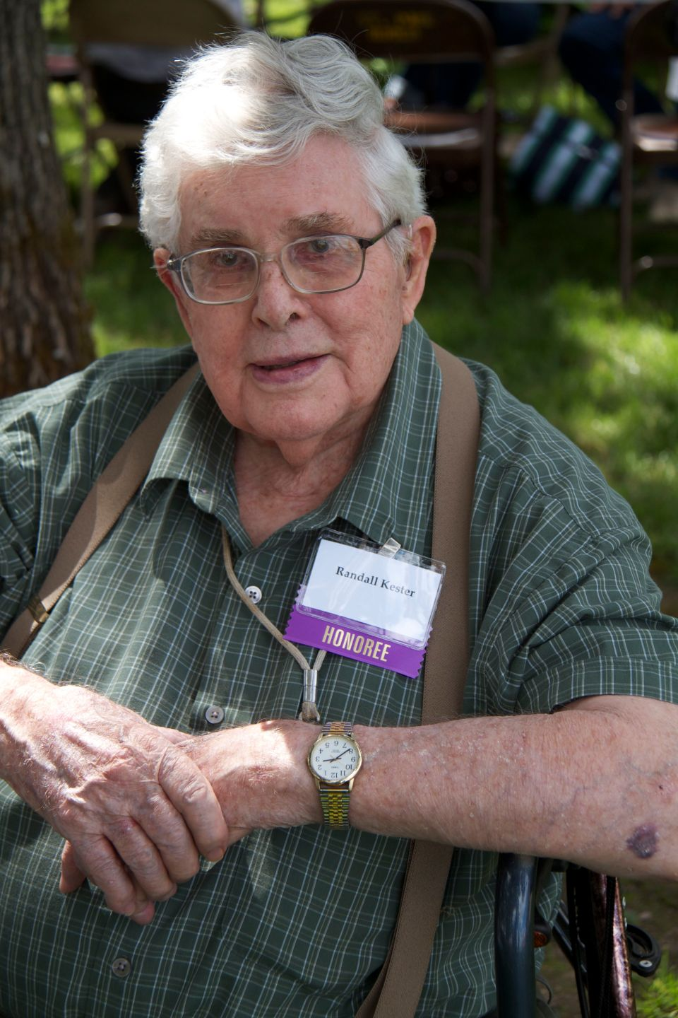 Randall Kester, 2004 Lifetime Service Award Recipient