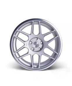 3SDM wheels 0.09 Matte Silver Polished Lip