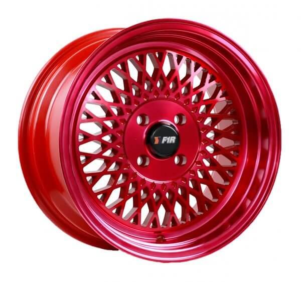 25 Red Wheel One 15x8 F1R F01 4x100