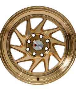 F1R wheels F07 Machined Gold