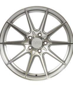 F1R wheels F101 Machined Silver