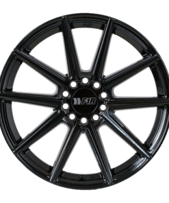 F1R wheels F27 Gloss Black
