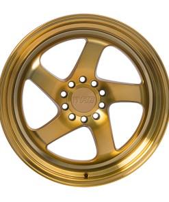 F1R wheels F28 Machined Gold