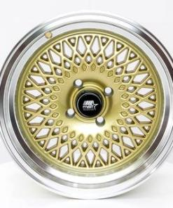 MST wheels MT05 Gold Machined Lip