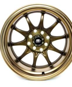 MST wheels MT11 Satin Bronze Bronze Lip