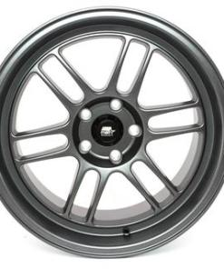 MST wheels Suzuka Matte Gun Metal