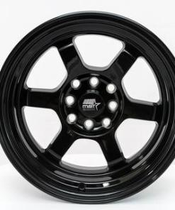 MST wheels Time Attack Smoked Black