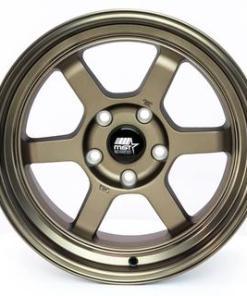 MST wheels Time Attack Matte Bronze Bronze Machined Lip