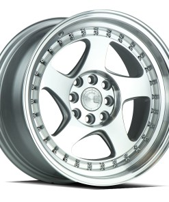 AH01 AH01 16X8 4X100/114.3 Silver Machined