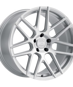 MOSCOW MOSCOW 22X11 5X130 Silver Milled Spokes Brushed Face