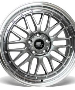 LeMan LeMan 19X8.5 5X120 Hyper Black Machined Lip