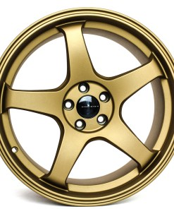 CR CR 18X9.5 5X114.3 Sandy Gold
