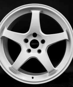 CR CR 18X9.5 5X114.3 Alabaster White