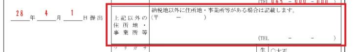 青色申告承認申請書の書き方6