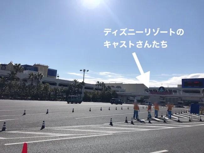 東京ベイ浦安シティマラソン ディズニーリゾートのキャストさん
