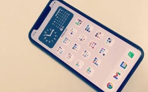 iPhoneのホーム画面は整理整頓!5つのマイルール