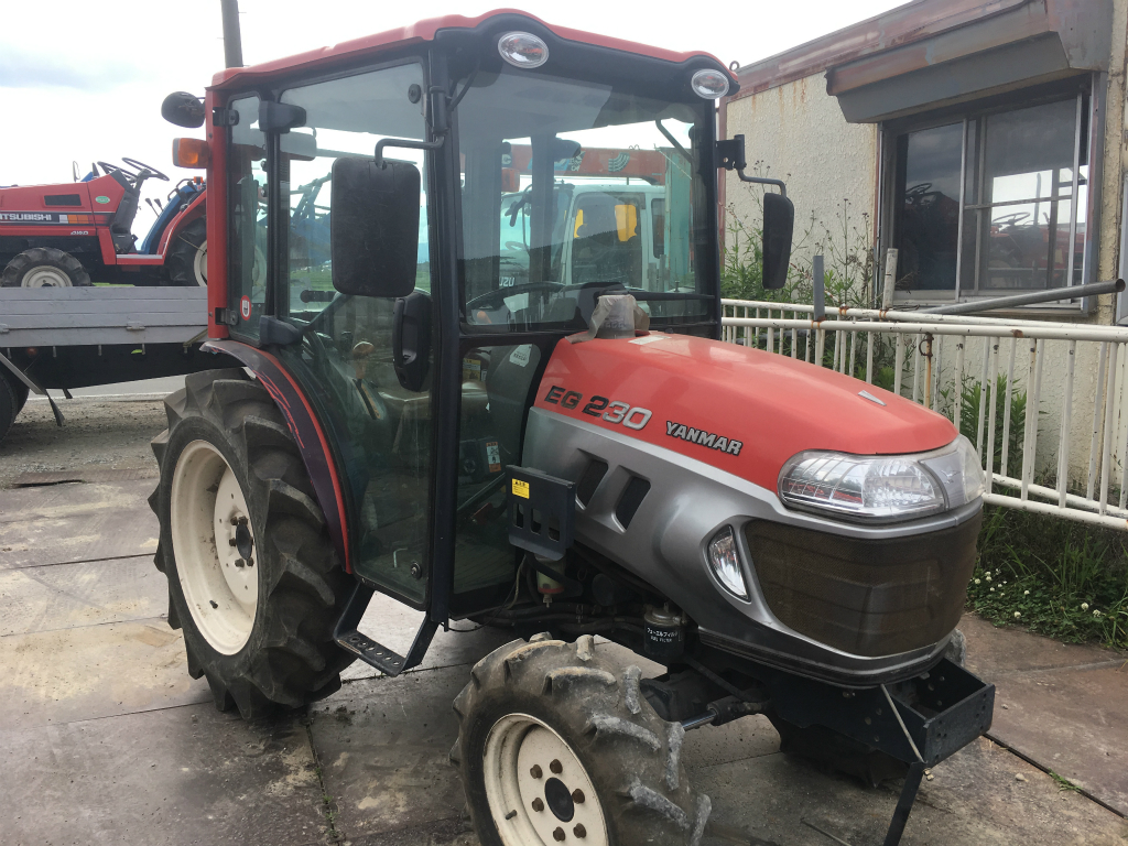 YANMAR EG230D 10247 used compact tractor |KHS japan