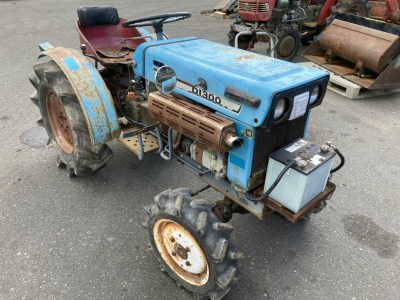 MITSUBISHI D1300D 02188 japanese used compact tractor  KHS japan