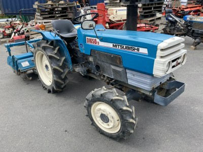 MITSUBUSHI D1650D 50133 japanese used compact tractor  KHS japan