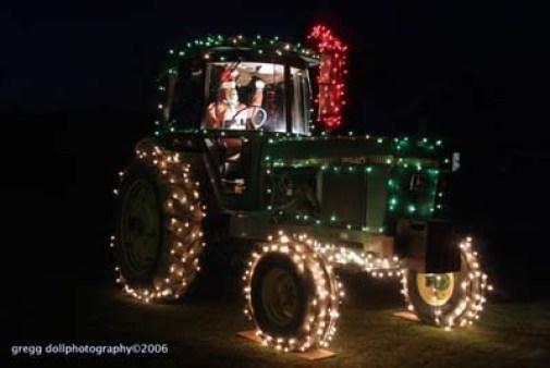 tractorsanta