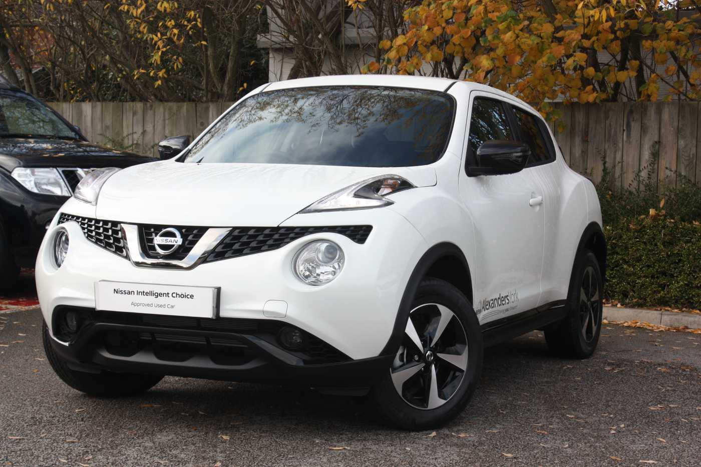 Nissan Juke White For Sale In York Nissan Used Cars Uk