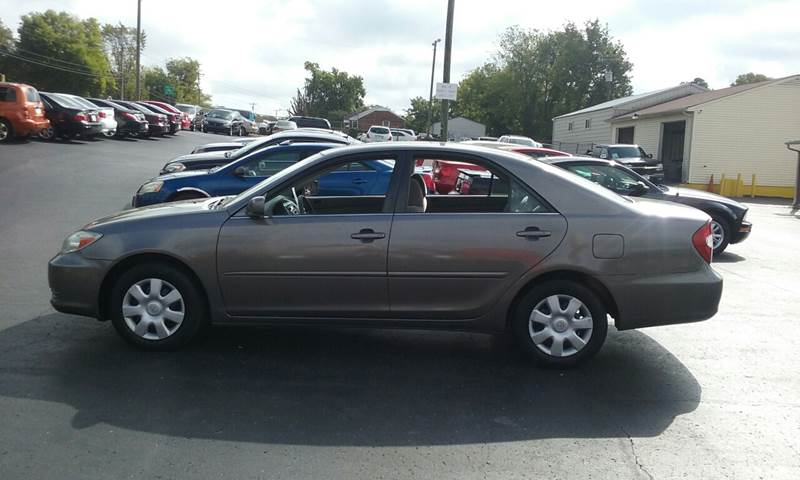 2002 Toyota Camry Used Cars In Nashville Pre Owned