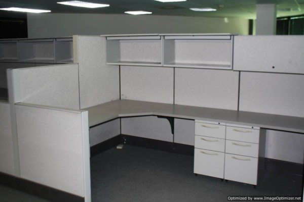 Used Herman Miller SQA Cubicles 6x6 Typical St. Louis Missouri2