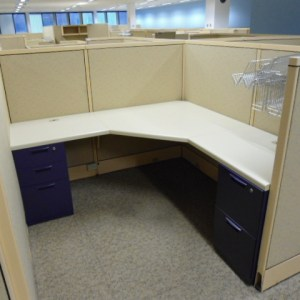 Used Steelcase Avenir Cubicles 6 x 6 Tampa Florida