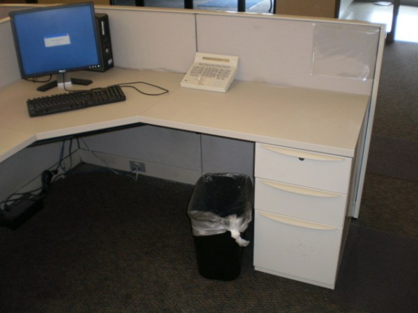 Used Haworth Premise 6x6 workstations4