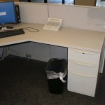 Used Haworth Premise 6×6 workstations4