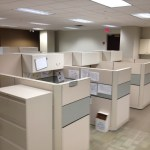 Used Allsteel 6×6 and 8×6 cubicles5